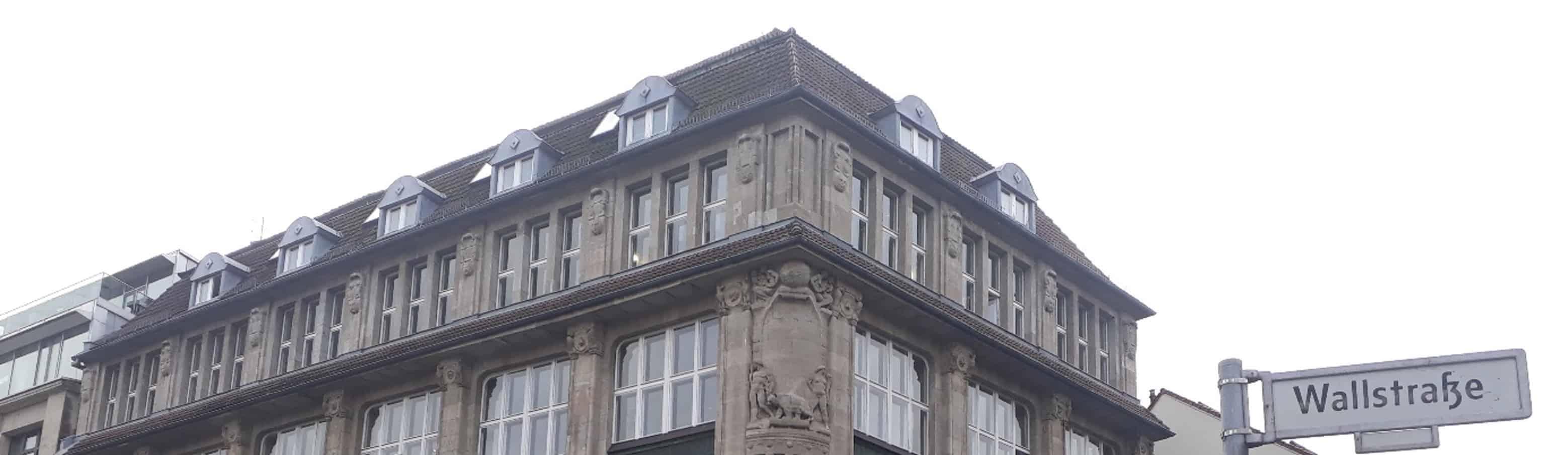 Bürogebäude Wallstraße
